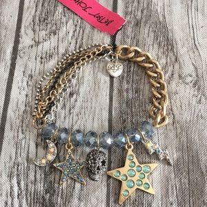 Vintage stargazer 💀 bracelet 🌩⭐️🌙